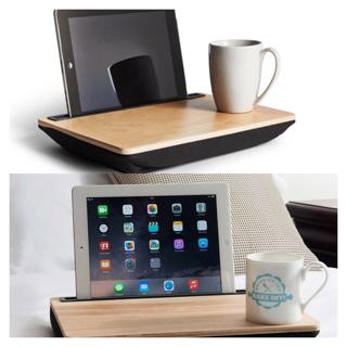 iBed, bandeja  para usar la Tablet desde la cama o sofá.