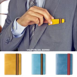 Tarjeteros y carteras Valentín Del Barrio.