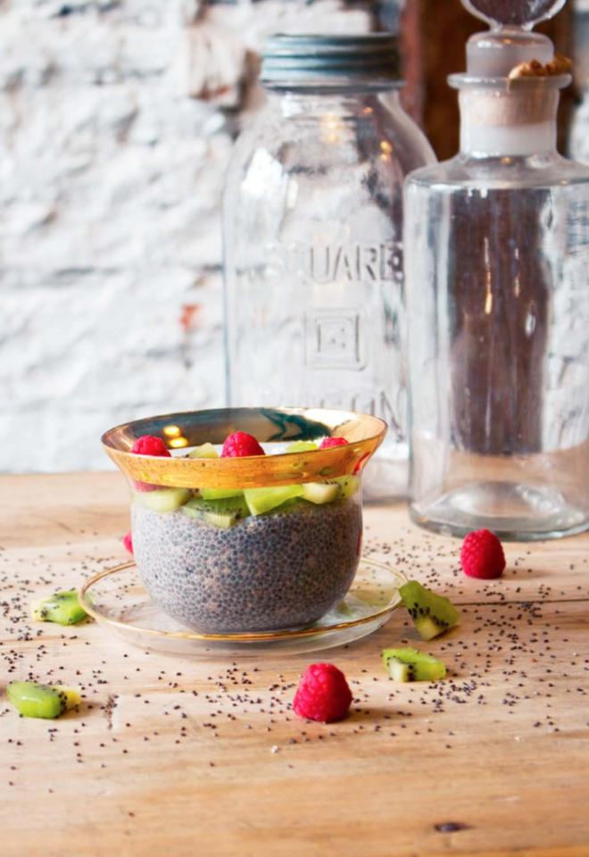 Pudding de Chia con Frutas
