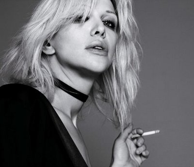 Courtney Love photographed by Hedi Slimane