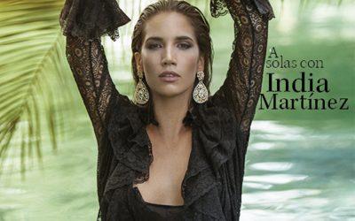 Intimately Julio- en portada India Martínez