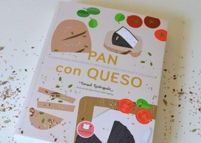 Portada libro Pan con Queso