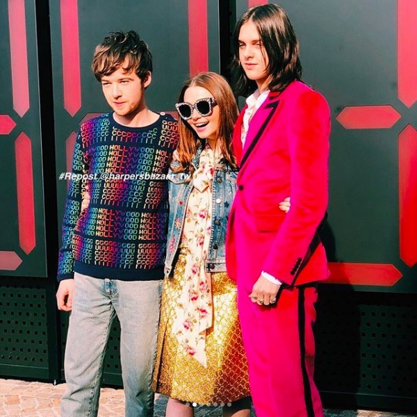 Jessica Barden, Alex Lawther y Nick Cave