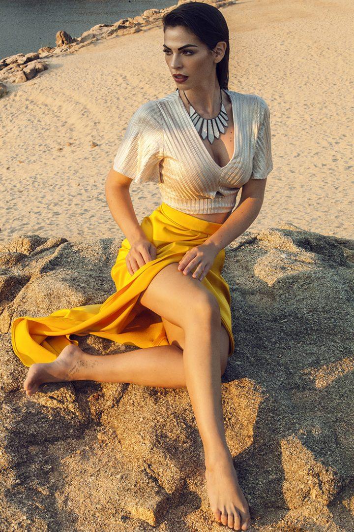 Actriz española que triunfa en México Carmen Muga modelo