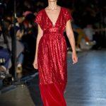 Desfile mujer del diseñador Maison Mesa en la MFBW Madrid 2020