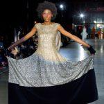 Desfile mujer del diseñador Maison Mesa en la pasarela MFBW Madrid 2020