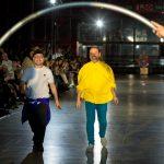 Maison Mesa y Dani Pannullo cierre desfile MFBW Madrid 2020