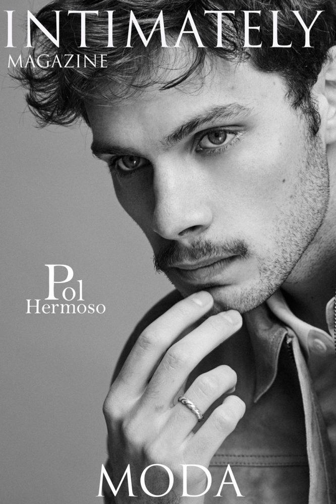 Portada de la revista digital Intimately Magazine con Pol Hermoso